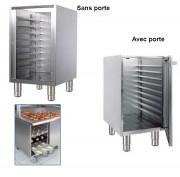 Meuble bas pour plaques pâtissières - Hauteur : 860 mm - Longueur :de 450 à 900 mm