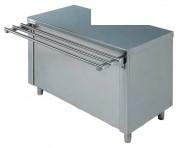 Meuble caisse cuisine - Dimensions (L x P x H) mm : Jusqu'à 1400 x 700 x 850