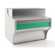 Meuble caisse pour vitrine réfrigérée - Dimensions (L x  P X H) mm : Jusqu'à 1638  x 825 x 910