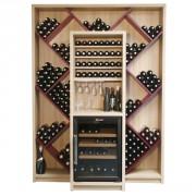 Meuble cave à vin 360 bouteilles - Jusqu'à 360 bouteilles