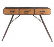 Meuble console de style industriel vintage - Dimensions : 120 x 38 x 75 cm