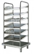 Meuble de distribution pour cuisine - Dimensions (L x P x H) mm : Jusqu'à 800 x 700 x 1700