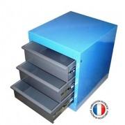 Meuble de rangement à tiroirs - 650 x 640 x 550