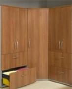 Meuble de rangement haut 2 portes design - Dimensions (hxlxp) en cm  : 218x80x43