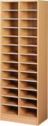 Meuble de tri 13 cases - Dimensions (L x P x H) mm : 320 x 400 x 1800