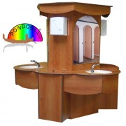 Meuble double lavabo