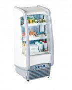 Meuble frigorifique ouvert mural 3 niveaux - Capacité (L) : 300