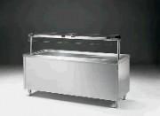 Meuble froid de self-service réglable en hauteur - 0.37 kW de puissance électrique