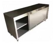 Meuble haut inox avec portes coulissantes - Modèle adaptable à vos besoins