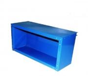 Meuble haut ouvert - Poudre polyester bleu RAL 1018