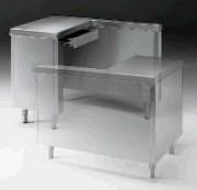Meuble pour caisse enregistreuse - Dimensions : (L x P x H) 800 cm x 520 cm x 870 cm