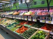 Meuble présentoir pour fruits et légumes