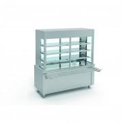Meuble réfrigéré pour enfants - Fabrication espagnole  - Certifié ISO 9001 et 14001 - Modèle : avec plaque / cuve