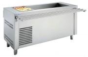 Meuble réfrigéré self service - Dimensions (L x P x H) mm : Jusqu'à 1600 x 700 x 850