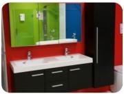 Meuble salle de bain design - Disponible en plusieurs coloris