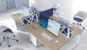 Meuble secrétaire design - Dimensions plans en cm : de 120x80x74 à 180x120x74