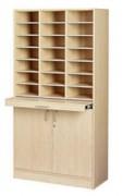 Meuble tri courrier 21 cases - Dimension (hxlxp) mm : 1800 x 915 x 400