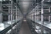Mezzanine industrielle 310 kg par tablette - Charge : 60 à 310 kg par tablette – Plancher bois ou métal