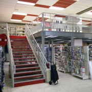 Mezzanine magasin - Avec plancher aggloméré, caillebotis ou bacs acier
