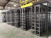 Mezzanine sur rayonnage métallique - Rayonnage sur plusieurs niveaux