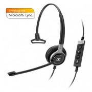 Micro-casque monaural USB ML - Optimisé pour Microsoft Link et softphone