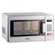 Micro-ondes professionnel programmable - Carrosserie inox  - Capacité (L ) : 26 - Puissance (W) : 1100