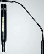 Microphone avec LED