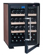 Mini armoire à vin réfrigérée - Capacité maximale (avec 1 clayette) : 83 bouteilles