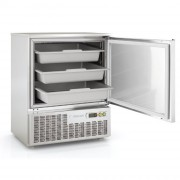 Mini armoire réfrigérée inox - Dimension (L x P x H) mm : Jusqu'à 645 x 640 x 805