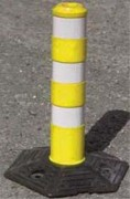 Mini balise de signalisation - Mini balises caoutchouc