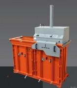 Mini centrale de recyclage multi chambre - Poids de balles jusqu'à 50 - 80 kg