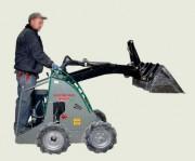 Mini chargeuse électrique - Force à tracter (kg) : 558