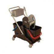 Mini chariot de ménage - Dimensions : 81 x 43,5 x 88 cm