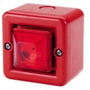 Mini combine sirène 104dB flash 0.5J - Mini combine sirène 104dB flash 0.5J IP66 32 sonsMINITL