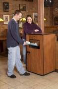 Mini compacteur déchets automatique - Durée du cycle : De 6 à 7 secondes
