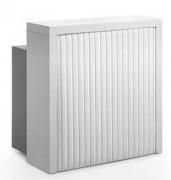 Mini comptoir caisse de réception - Avec espace de rangement