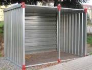 Mini conteneur de stockage - Longueurs disponibles : 1 - 1.26 - 1.38 m
