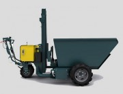 Mini dumper à roue - Charge transportable : 1000 kg