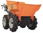 Mini dumper à roues 300 kg - Moteur Honda - Puissance : 4 kw - 5.5 ch