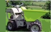 Mini dumper motorisé - Charges maxi : 300 et 450 kg