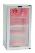 Mini frigo vitré - Froid ventilé - 3 grilles réglables