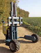 Mini gerbeur électrique compact - Capacité de charge : de 50 à 250 kg (selon modèle)