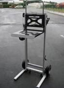 Mini gerbeur manuel à fourches réglables en écartement - Capacité de charge : 150 Kg - 3 modèles