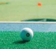Mini golf à gazon synthétique - Hauteur 45mm ( 2mm trame + 43mm fibres)