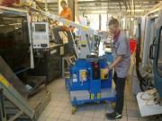 Mini grue industrielle - Capacité jusqu'à 750 Kg