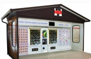 Mini market à casiers - Modèle extérieur ou intérieur