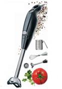 Mini mixeur de cuisine - 2 vitesses : 12500 et 14000 tours / min en charge