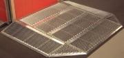 Mini rampe pour fauteuil roulant - Dimensions extérieures (L x l) mm : 1300 x 1640