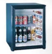 Mini-réfrigérateur vitré - Refroidissement par absorption