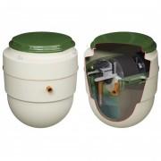 Mini station d'épuration - Puissance du moteur (W) : 50.